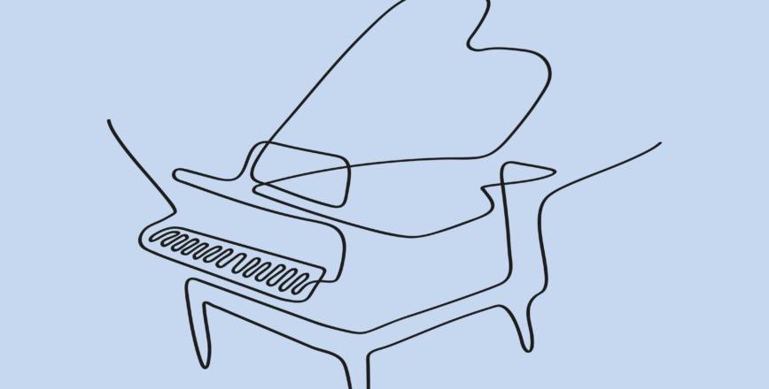 Illustration piano